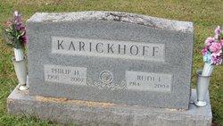 Ruth Ilene <I>Samples</I> Karickhoff