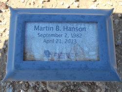 Martin B Hanson