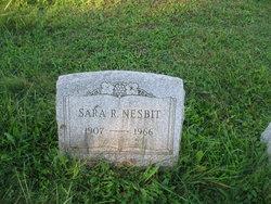 Sara Rosanna Nesbit