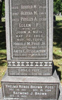 Ellen <I>Foss</I> Nute