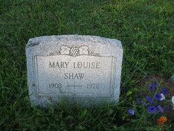 Mary Louise <I>Nesbit</I> Shaw