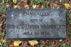 Emma <I>Allen</I> Washington
