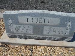 Eva <I>Thompson</I> Pruett