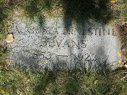 Agusta E. <I>Coon</I> Bevans