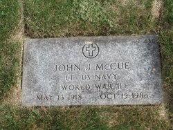 John J McCue