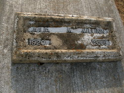 Julia Millikin