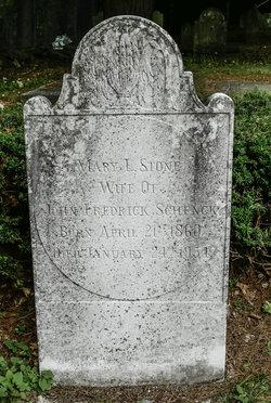 Mary Louisa <I>Stone</I> Schenck