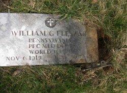 PFC William G Fleszar