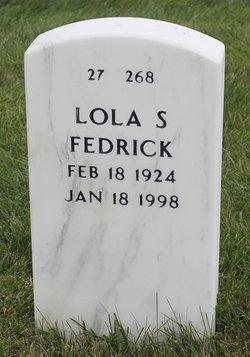"Lola Sain ""Lattimore"" Fedrick"