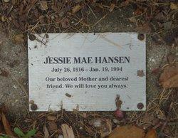 Jessie Mae Hansen