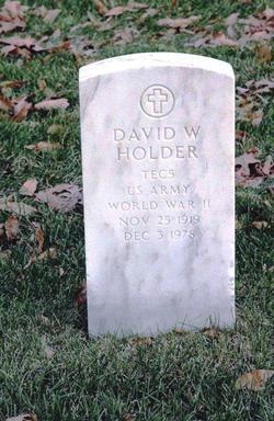 David W Holder