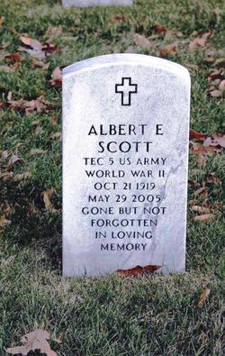Albert E Scott