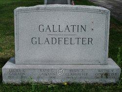 """Catharine Vienna """"Kittie"""" <I>Senft</I> Gladfelter"""
