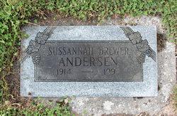 Sussannah <I>McKinney</I> Andersen
