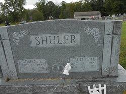 Pauline Hannah Lydia <I>Kellermeier</I> Shuler