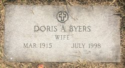 Doris Audry <I>Grigsby</I> Byers