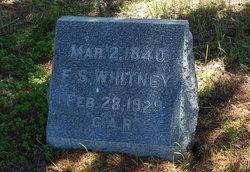 """Ferdinand Scott """"F. S."""" Whitney"""