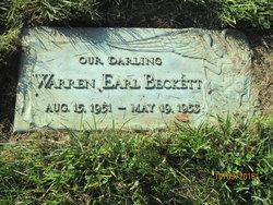 Warren Earl Beckett