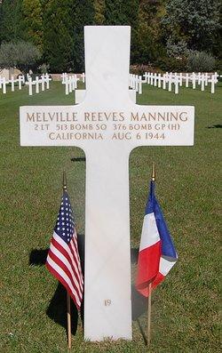 2Lt Melville Ree Manning