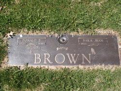 "Donald Earl ""Doc"" Brown"