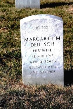 Margaret M Deutsch
