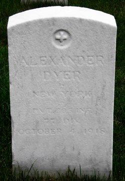 PFC Alexander Dyer