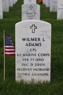 """Wilmer Leslie """"Sandy"""" Adams"""