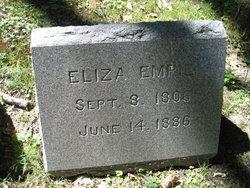 Eliza <I>Burdick</I> Empie