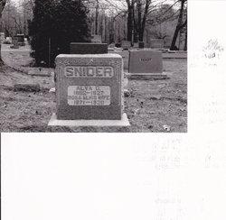 Alva Clarence Snider