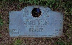 Myrtle Amelia <I>Moore</I> Brauer