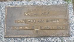 "Naomi ""Lolly"" <I>Edenfield</I> Alf"