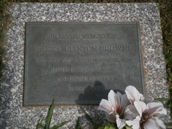 Harry Clinton Browne Jr.