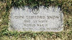 John Clifford Snow