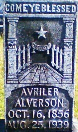 Avriler <I>Pendergrass</I> Alverson