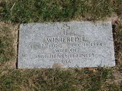 Winifred E Finley