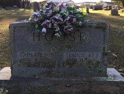 """Sarah Jane Tennessee """"Tennie"""" <I>Key</I> House"""