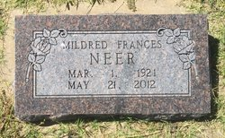 Mildred Francis <I>Earp</I> Neer