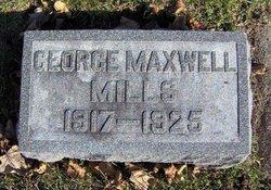 George Maxwell Mills