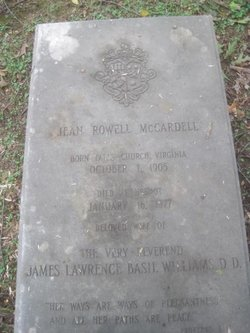 Jean Rowell <I>McCardell</I> Williams