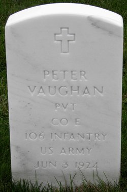 PVT Peter Vaughan