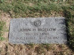 John H Bigelow