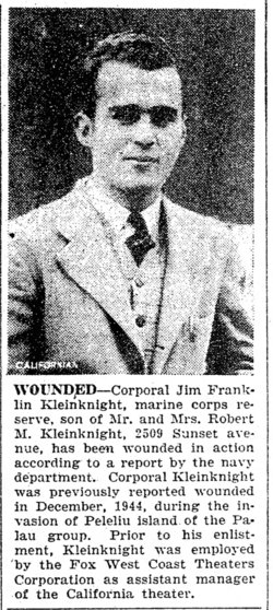 Jim Franklin Kleinknight