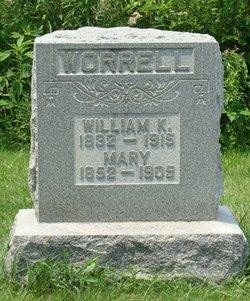 Mary <I>Bowles</I> Worrell