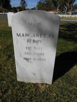 Margaret O Berry
