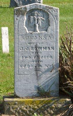 Susanna <I>Yoder</I> Bowman