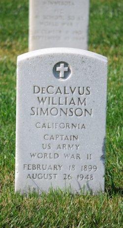 DeCalvus William Simonson