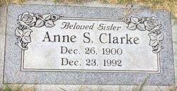 Anne <I>Schone</I> Clarke