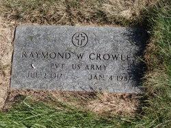 Raymond W Crowley