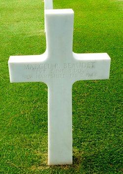 Pvt Marcel R Beaudet