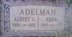 Edna <I>Okelberry</I> Adelman